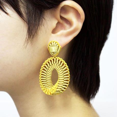 Mobius /  Pierced Earrings    Gold イヤリング