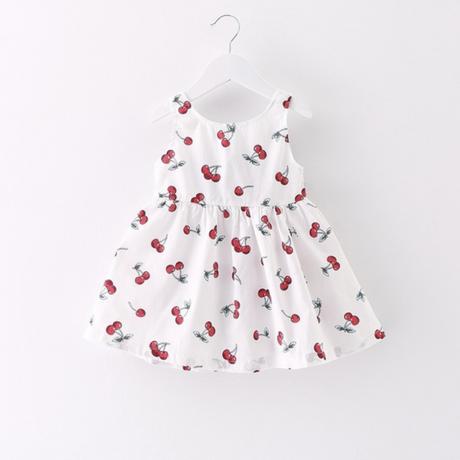 cherry onepiece 【white】