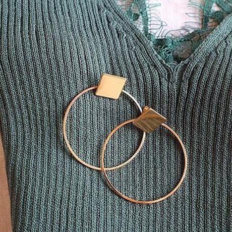 squared×hoop pierce