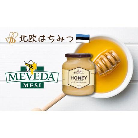 【好評につき展示会前先行販売!】MEVEDA HONEY エストニア産生ハチミツ 500g