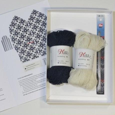 【おうち時間を楽しもう!】エストニアHelmeミトン手編みキット