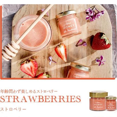 Artisan Honey with Strawberries ストロベリーハニー 200g