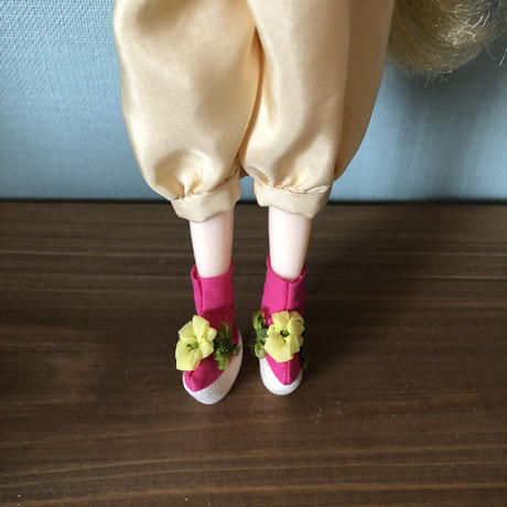 おめかしこっぽりブーツ*お花