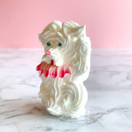 NEW金花糖 ふわもこまゆげ犬