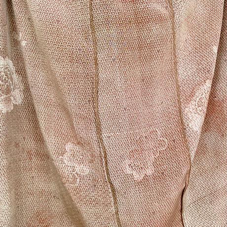 きものリメイク、2着限定、さらっとちりめんの正絹サルエルパンツ