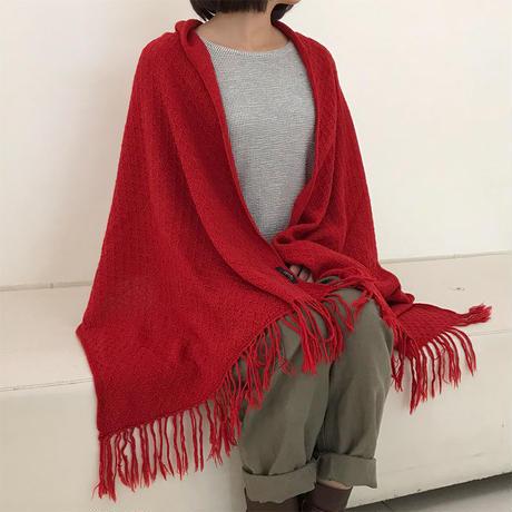 至福の柔らかさと温かさのベビーアルパカショール4色