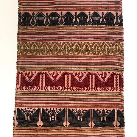 チェンマイのワット柄手織りショール