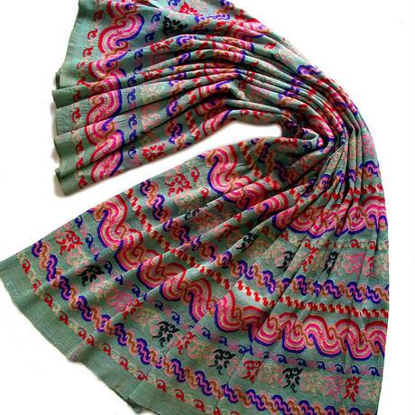 ミャンマーのルンタヤ(luntaya) 手織り布