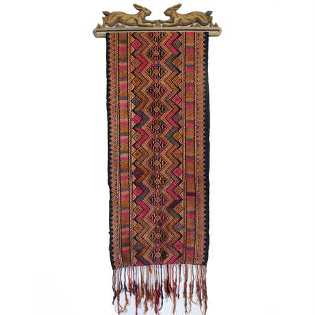 タイヤイ族のストール OLD STOLE of TAI-YAI from MYANMAR