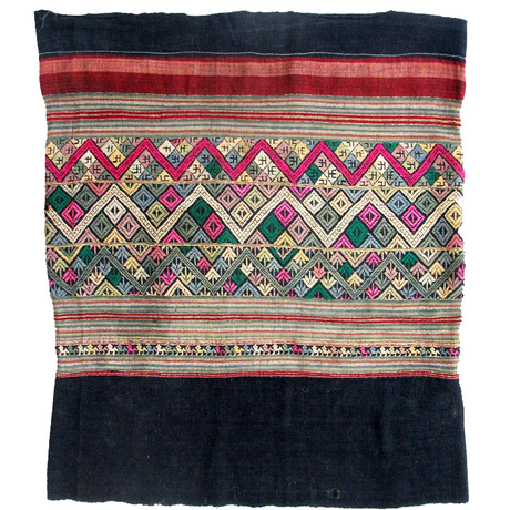 タイ族のシン OLD SARONG of THAI-LU from LAOS