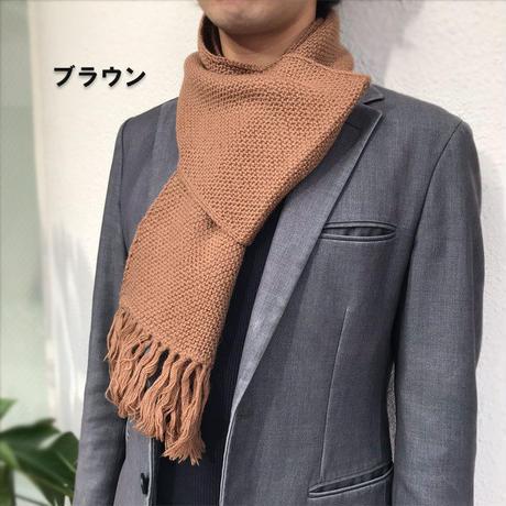 至福の柔らかさと温かさのベビーアルパカ100%マフラー7色