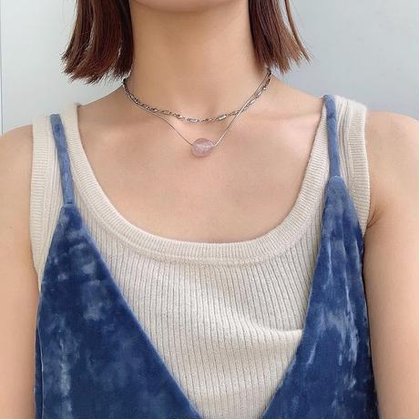 silver dignified necklace