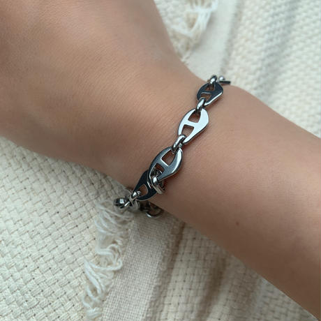coffee beans chain bracelet