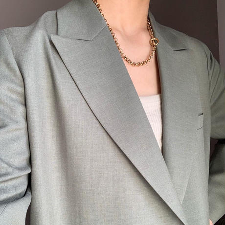 circle chain necklace
