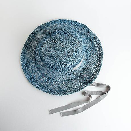Meika琉球藍/Greyグログランリボン