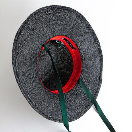 Likka矢車玉(濃)/Greenグログランリボン