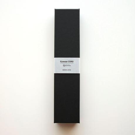 EYFe  Flower Lace Cord  <Stretch>    BK