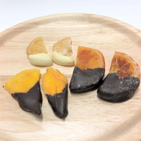 ドライフルーツチョコレート (レモン・オレンジ・マンゴー) 12個入
