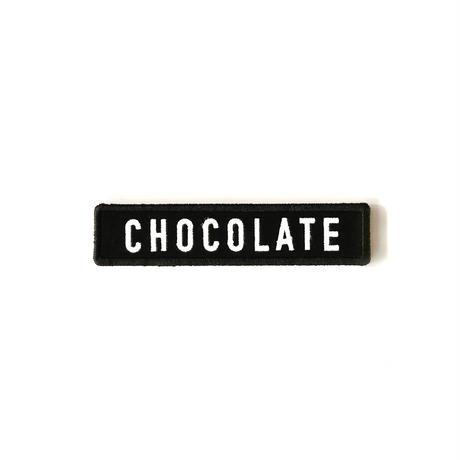 CHOCOLATE キャップワッペン