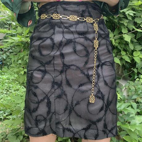 糸巻き巻きスカート