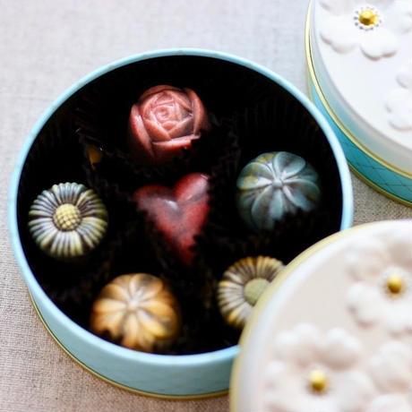 Vita Chocolat Flower can / フラワー缶