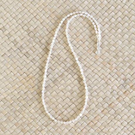 シェルパーツ × カレンシルバー ネックレス(b)