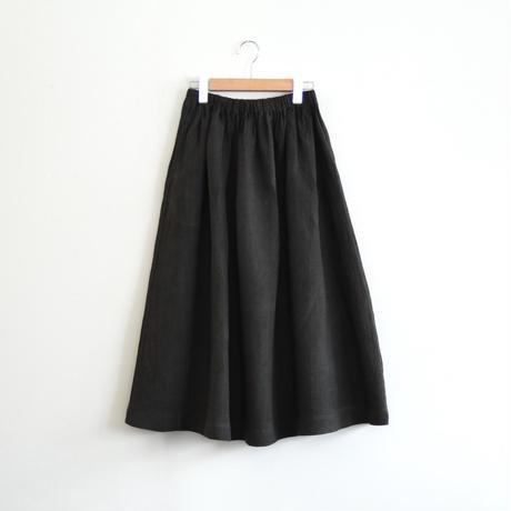 リネン ギャザースカート(スミクロ)