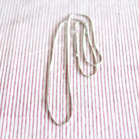 カレンシルバー シルクコードネックレス(a)