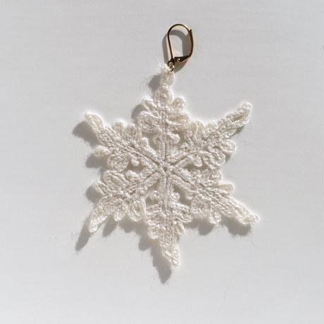 Snowflake Earring  (single)