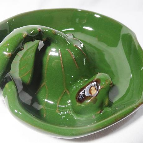 袖師窯 へるん皿 (香立て)