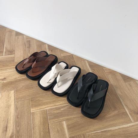 platform flip sandal(即納)