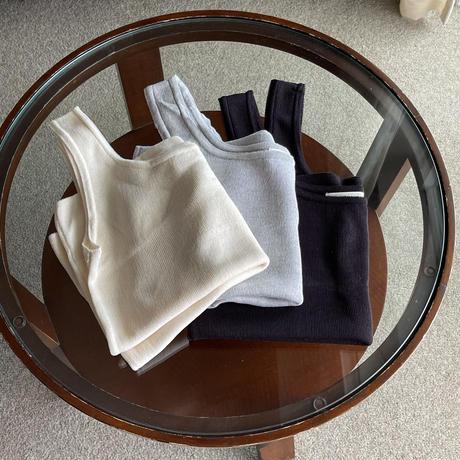 VEGETABLE basic slip knit(即納)