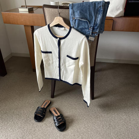 VEGETABLE audrey cardigan(即納)