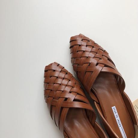 mesh flat shoes(即納)