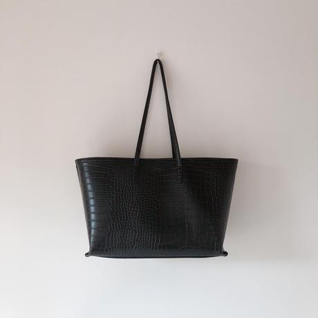 croco tote bag(即納)