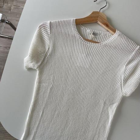platbase summer round knit(即納)
