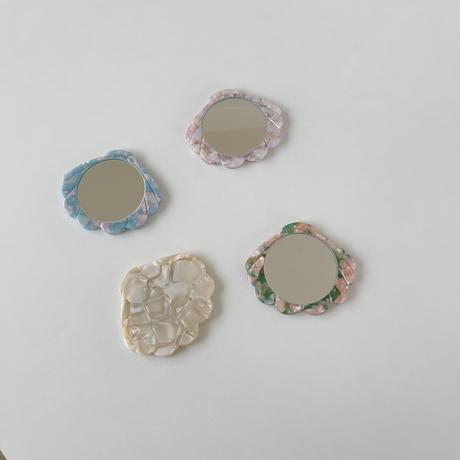 shell marble mirror(即納)
