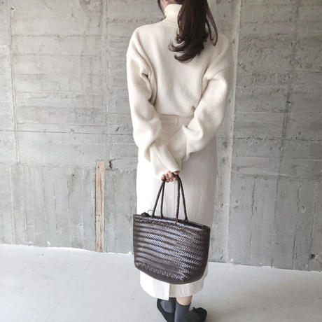 real leather tote bag(即納)