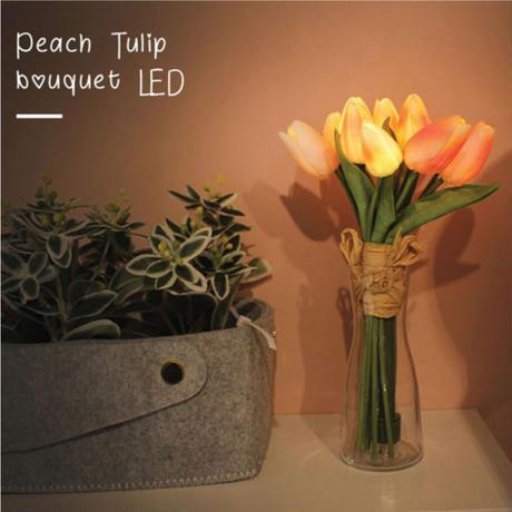 clear flowervase(LED tulip)即納