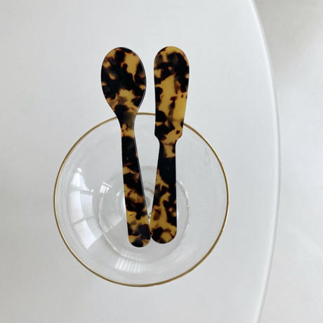 french marble butter knife (即納)