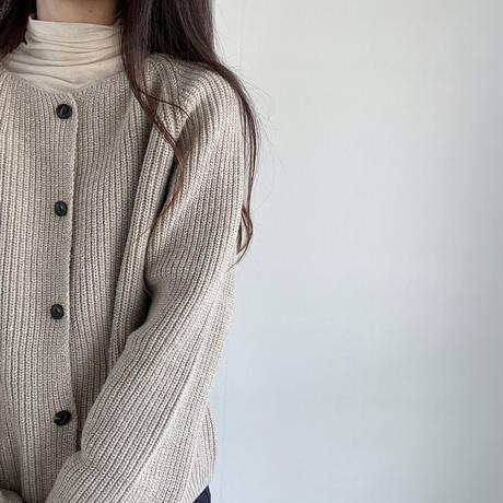 VEGETABLE chanky wool cardigan(即納)