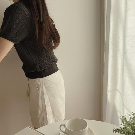 Cfs twist round knit(即納)