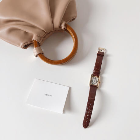 wood handle gather bag(即納)