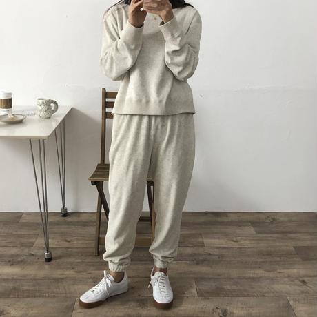 VEGETABLE terry jogger pt(即納)