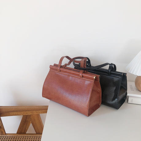 vintage square shoulder bag(即納)