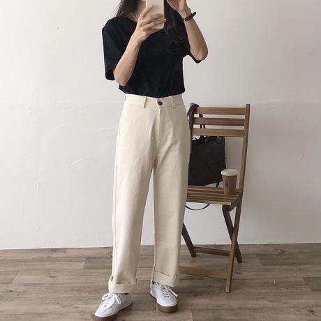 basic chino pants(即納)