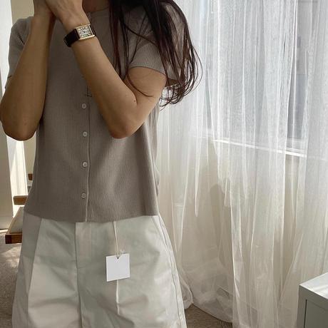 bas standard summer half cardigan(即納)
