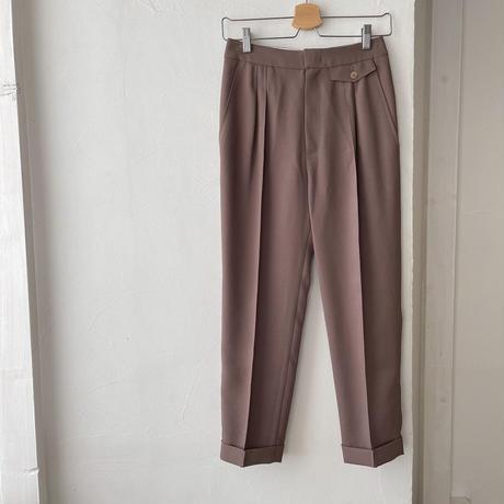 bas standard vijo pintack slacks(即納)