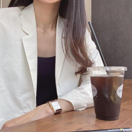 VEGETABLE golgi camisole knit(即納)