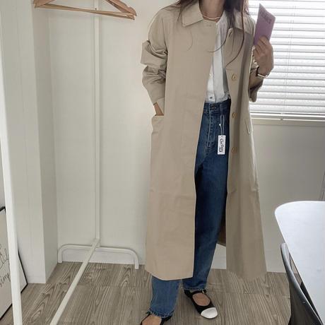 VEGETABLE bard  single trench  coat(即納)